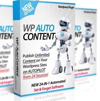 WP Auto Content plugin