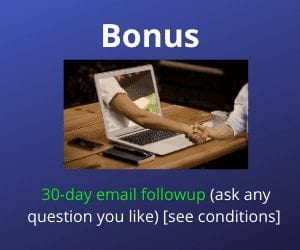 30 day email follow up