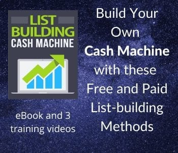 List Building Cash Machine